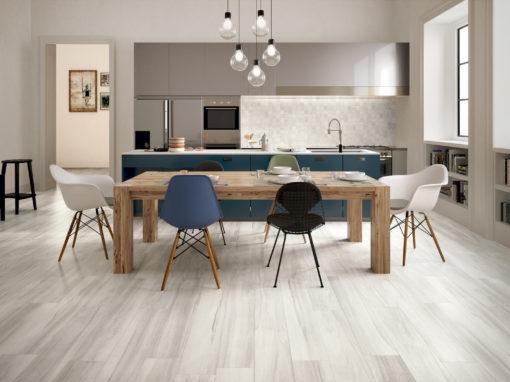 Kitchen With Hardwood Floors