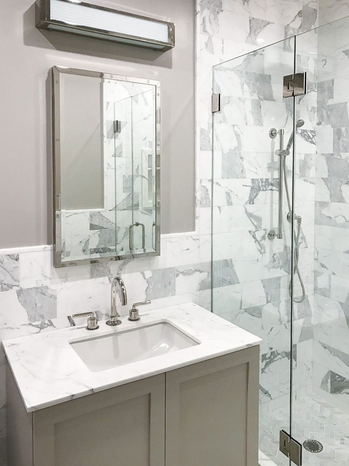 Bathroom with Tile Floors - T.F. Andrew - Carpet One