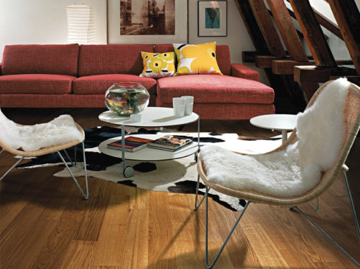 Hardwood Floors Family Room