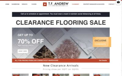 TF Andrew Lauches Clearance Website!