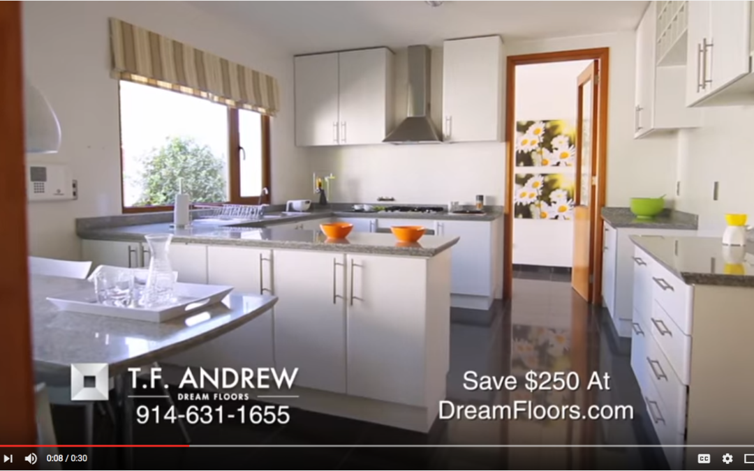New TF Andrew Flooring TV Commercial in Westchester